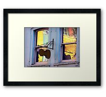 Reflecting the Sunny Side Framed Print