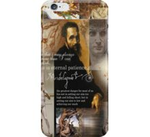 michaelangelo iPhone Case/Skin