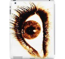 smokey eye iPad Case/Skin