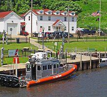 Coast Guard Station: Ashtabula Harbor by Jack Ryan