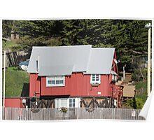 Morro Bay Beach House Poster