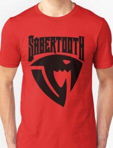 Sabertooth (Black) Unisex T-Shirt