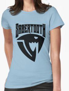 Sabertooth (Black) Womens T-Shirt