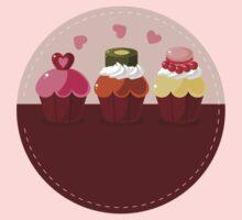 Cupcakes Kids Tee