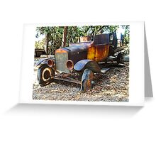 Ford Flatbed Truck Greeting Card