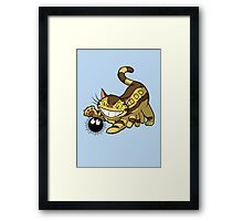 Kitten Bus! Framed Print