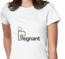 pregnant Womens Fitted T-Shirt