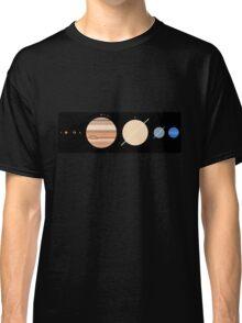 Minimalistic Solar System Classic T-Shirt
