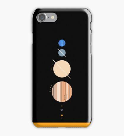 Minimalistic Solar System iPhone Case/Skin