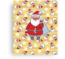 Santa Claus =) Canvas Print