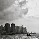 Hong Kong Harbour by happy-go-lucky