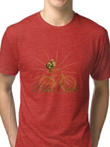 Biker Chick  Tri-blend T-Shirt