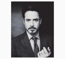 Robert Downey Jr Black & White by AimLamb
