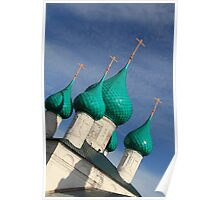 church domes Poster