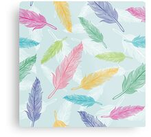 feathers pattern  Metal Print