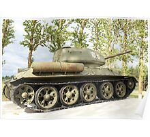 tank T34 Poster