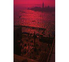 Hot summer night, Venice. Photographic Print