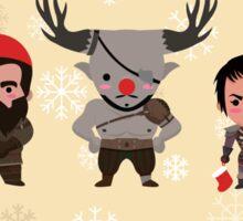 Dragon Age Christmas Sticker