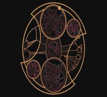 Doctor Who Gallifreyan symbol by poppys