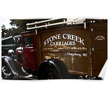 Stone Creek Carriages  Poster