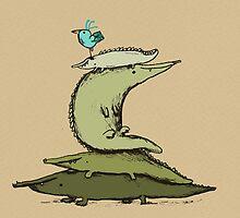 Croc Totem by Sophie Corrigan