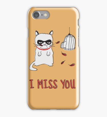 I Miss You iPhone Case/Skin