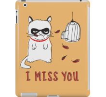 I Miss You iPad Case/Skin