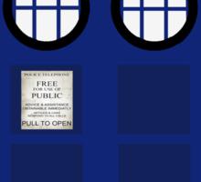 The Potter Tardis Sticker
