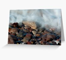 Rocks at Mill Shore, Aberdeenshire Greeting Card