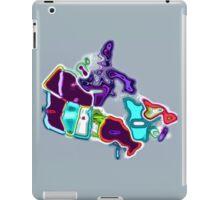 Map of Canada pop art iPad Case/Skin