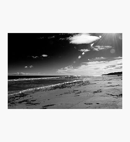 St Combs Beach, Aberdeenshire Photographic Print