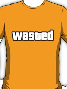 WASTED - GTA T-Shirt