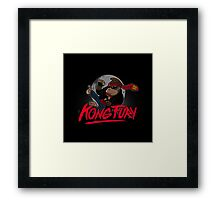 Kong Fury Framed Print