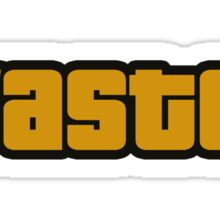 WASTED - GTA Sticker