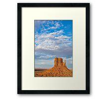 Utah landscape. Framed Print