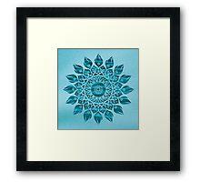 Deep Meditation Mandala Framed Print