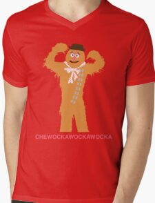 CHEWOCKAWOCKAWOCKA Mens V-Neck T-Shirt