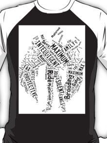 Maximum Ride: Fang Word Art T-Shirt