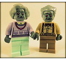 Zombie Grandparents  Photographic Print