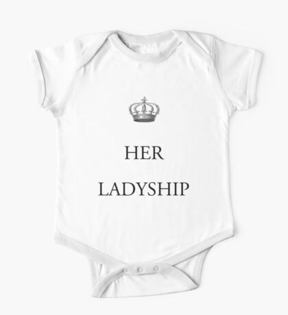 Her Ladyship One Piece - Short Sleeve