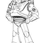 Woody Lightyear by nabila  rouabah