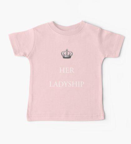 Her Ladyship Baby Tee