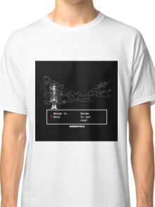 UNDERTALE · T-SHIRT is anime real Classic T-Shirt