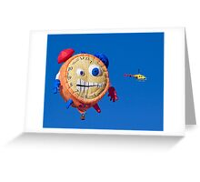 2011 Special Shapes - Tic Toc Greeting Card