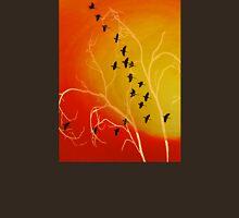 Birds, Sky, Tree Unisex T-Shirt