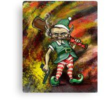 Disgruntled Elf Canvas Print