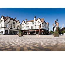 The Colonnade, Letchworth Garden City Photographic Print