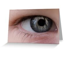 The eye of the beholder Greeting Card
