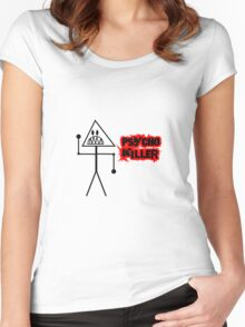 Psycho Killer Women's Fitted Scoop T-Shirt