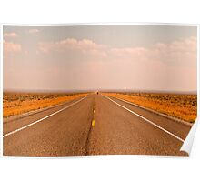 Driving Across the Great Basin Poster